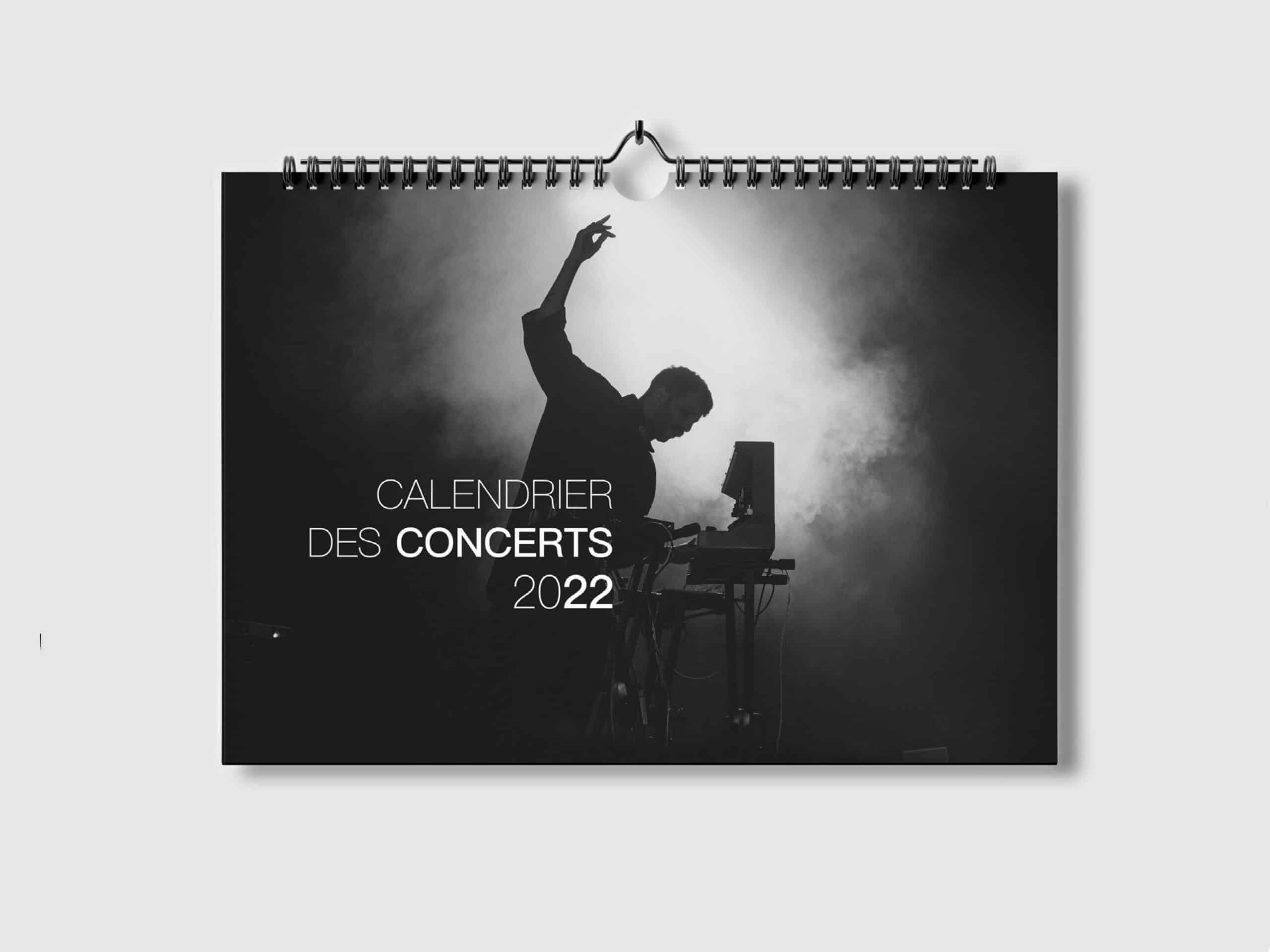 Calendrier des Concerts 2022